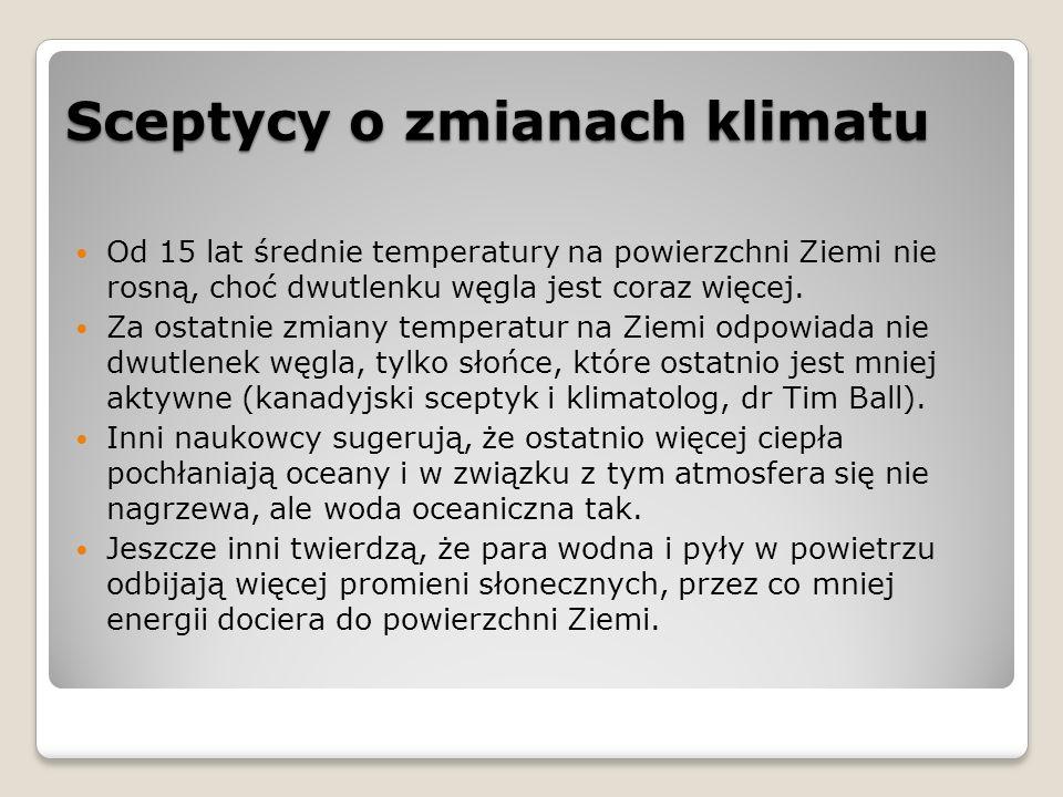 Rolnictwo w Polsce w aspekcie zmian klimatycznych Szacowane negatywne skutki zmian klimatu: ◦spadek plonów roślin zimnolubnych (np.