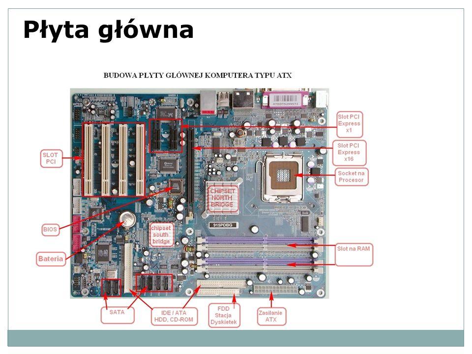 Płyta Główna - w urządzeniach elektronicznych to najważniejsza płyta drukowana urządzenia, szkielet komputera, na której zamontowano najważniejsze elementy urządzenia, umożliwiająca komunikację wszystkim pozostałym komponentom i modułom.