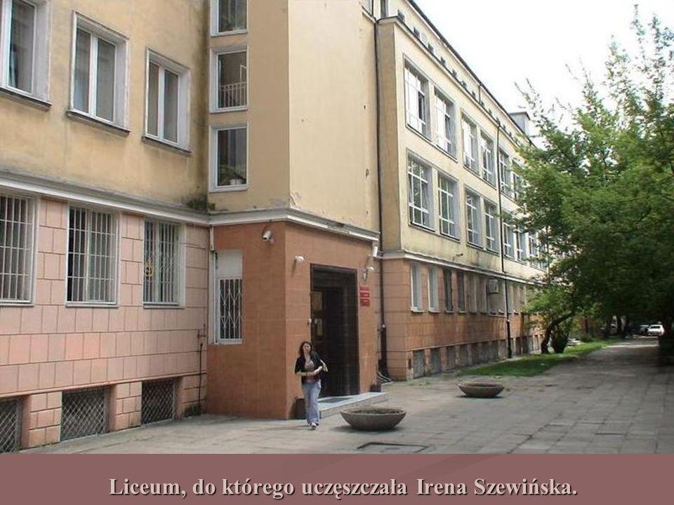 Liceum, do którego uczęszczała Irena Szewińska.