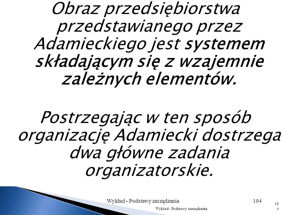 Wykład - Podstawy zarządzania193 193