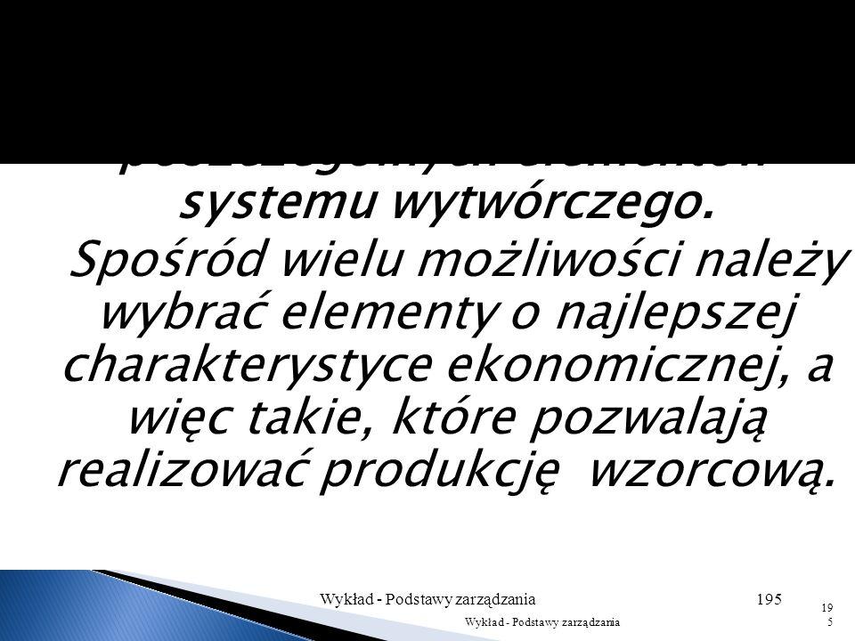Obraz przedsiębiorstwa przedstawianego przez Adamieckiego jest systemem składającym się z wzajemnie zależnych elementów. Postrzegając w ten sposób org