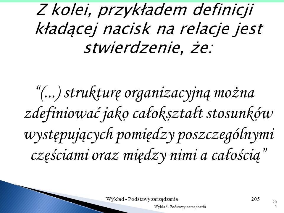 Wykład - Podstawy zarządzania204 204