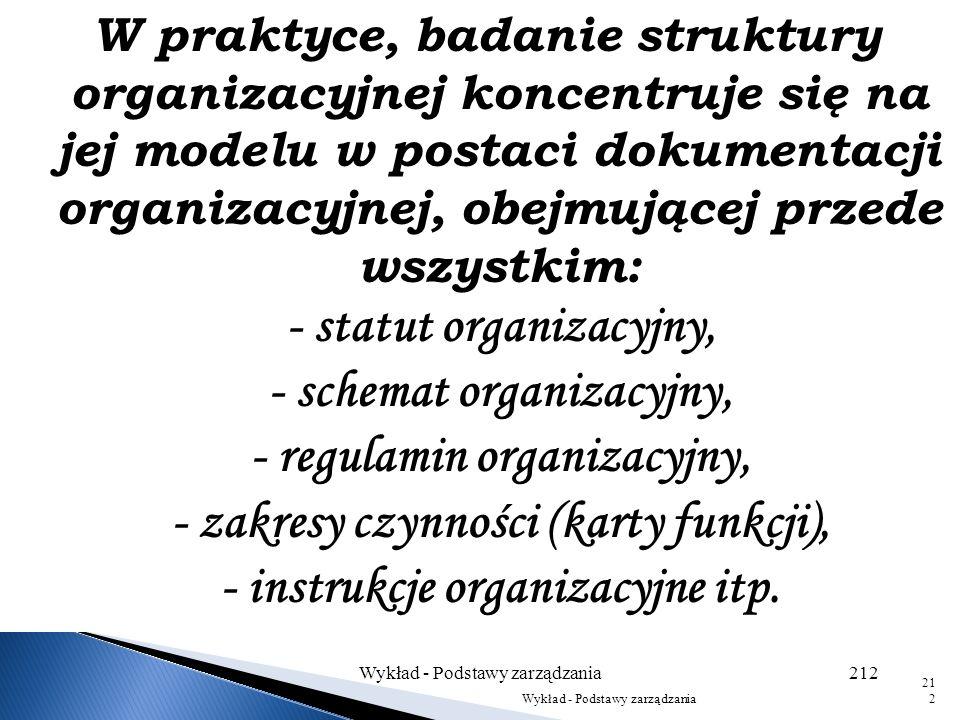 Wykład - Podstawy zarządzania211 211