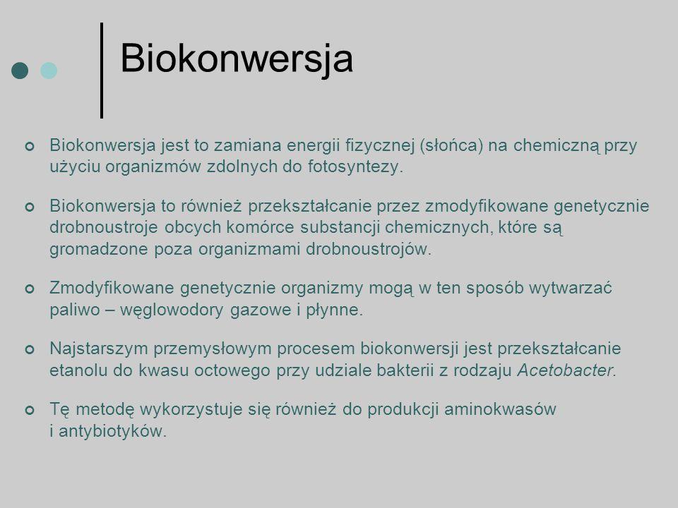Zastosowanie biotechnologii Ze względu na sposób wykorzystania można mówić o biotechnologii: - zielonej- czyli stosowanej w rolnictwie, związanej z uprawą transgenicznych roślin i hodowlą transgenicznych zwierząt, - białej – stosowanej w przemyśle spożywczym, np.
