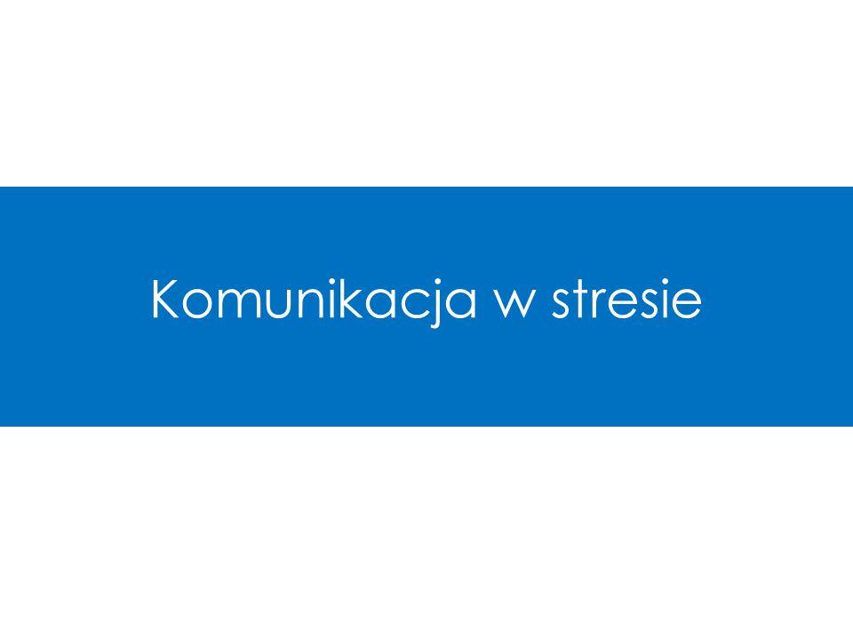 Komunikacja w stresie