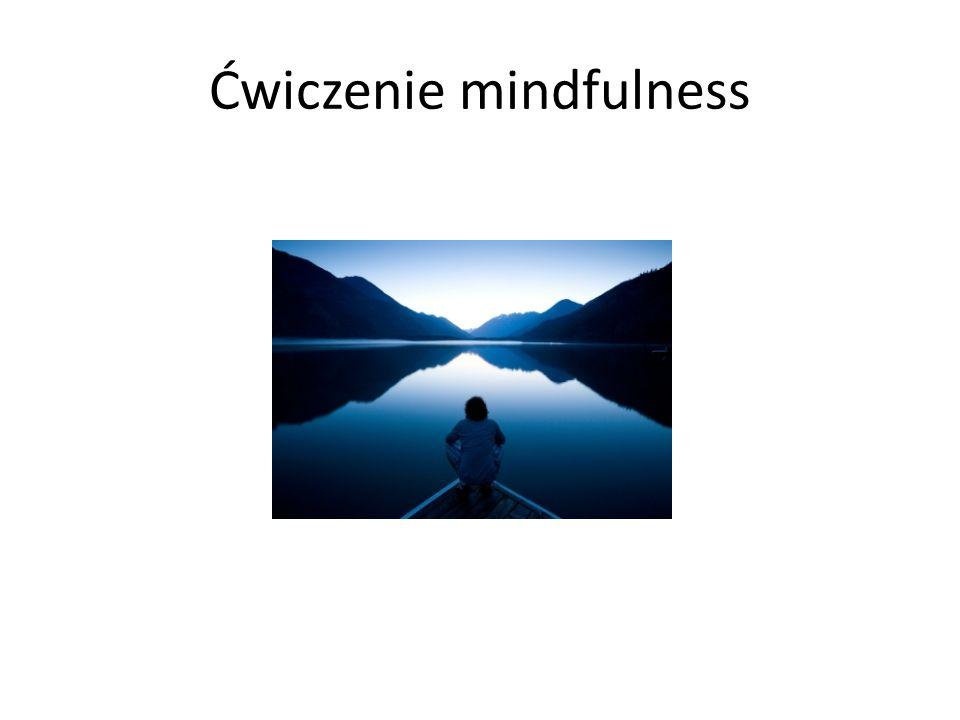 Ćwiczenie mindfulness