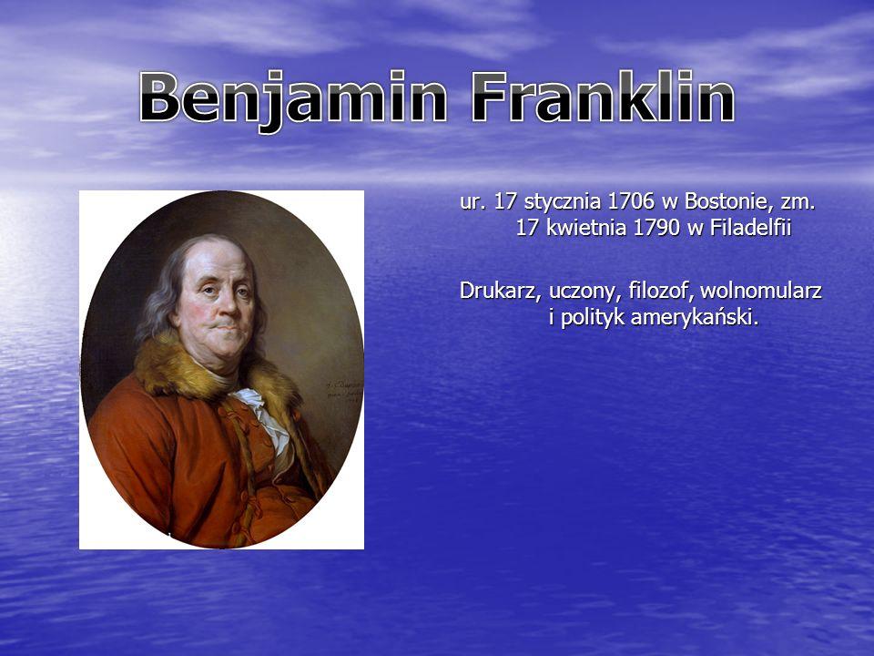 ur. 17 stycznia 1706 w Bostonie, zm.