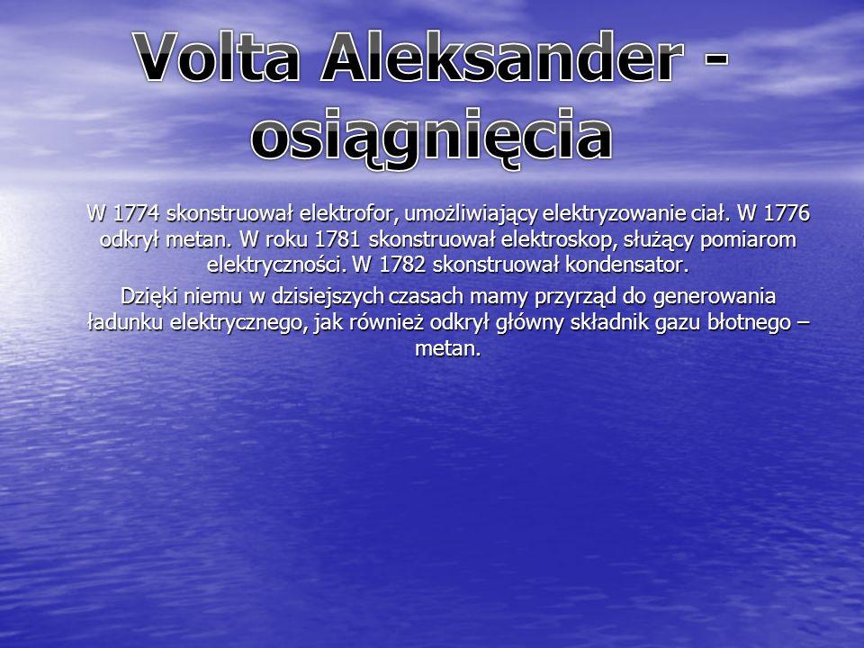 W 1774 skonstruował elektrofor, umożliwiający elektryzowanie ciał.