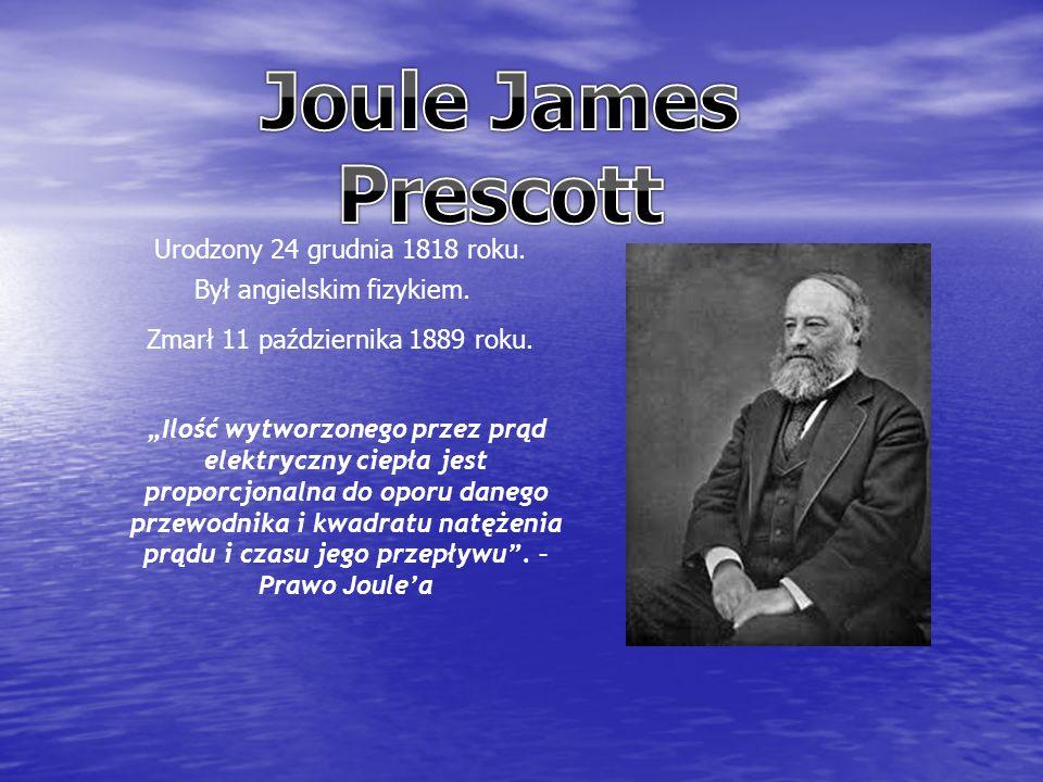 Urodzony 24 grudnia 1818 roku. Był angielskim fizykiem.