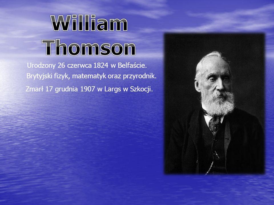 Urodzony 26 czerwca 1824 w Belfaście. Brytyjski fizyk, matematyk oraz przyrodnik.