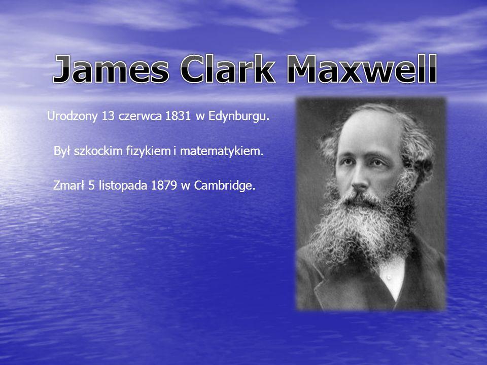 Urodzony 13 czerwca 1831 w Edynburgu. Był szkockim fizykiem i matematykiem.