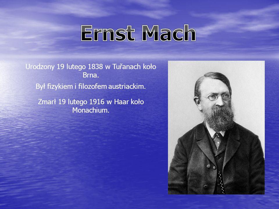 Urodzony 19 lutego 1838 w Tuřanach koło Brna. Był fizykiem i filozofem austriackim.