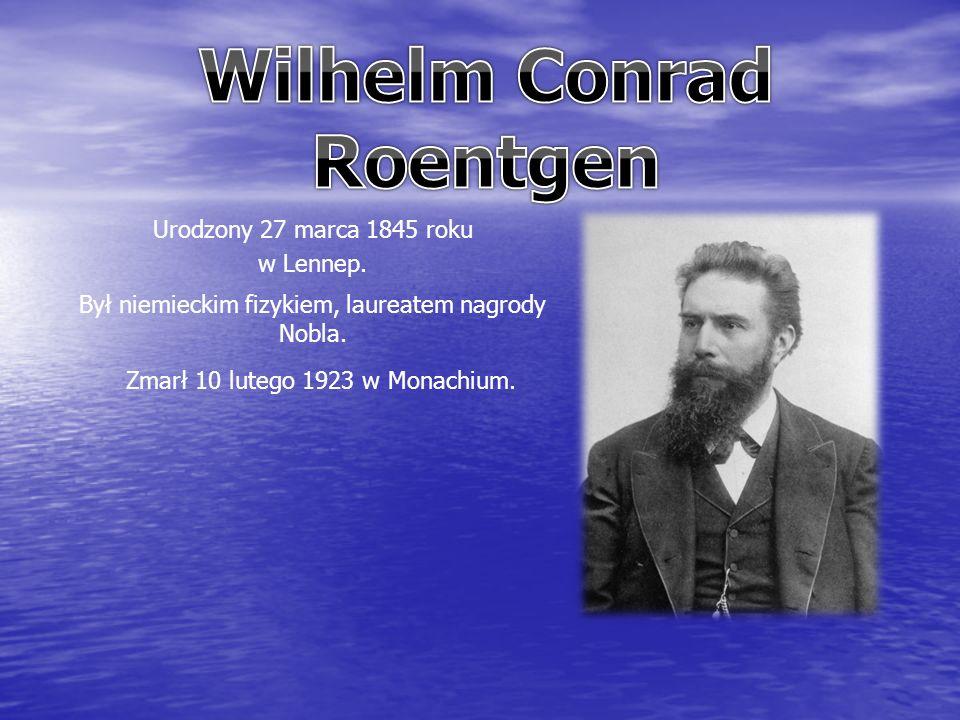 Urodzony 27 marca 1845 roku w Lennep. Był niemieckim fizykiem, laureatem nagrody Nobla.