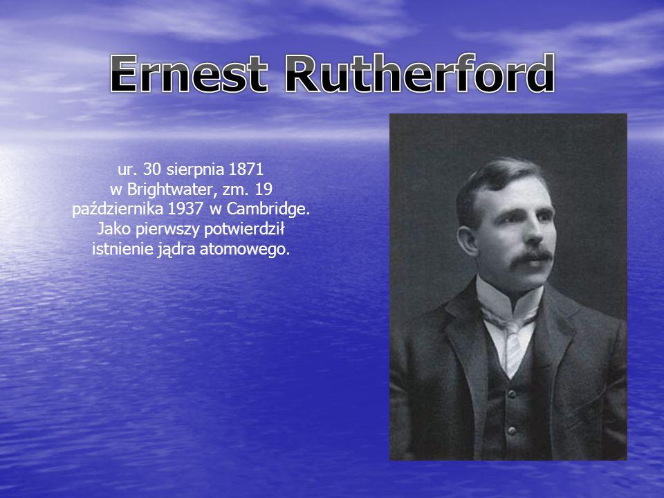 ur. 30 sierpnia 1871 w Brightwater, zm. 19 października 1937 w Cambridge.