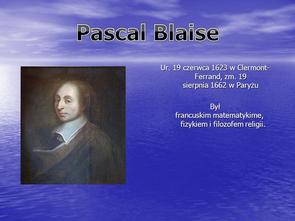 Ur. 19 czerwca 1623 w Clermont- Ferrand, zm.
