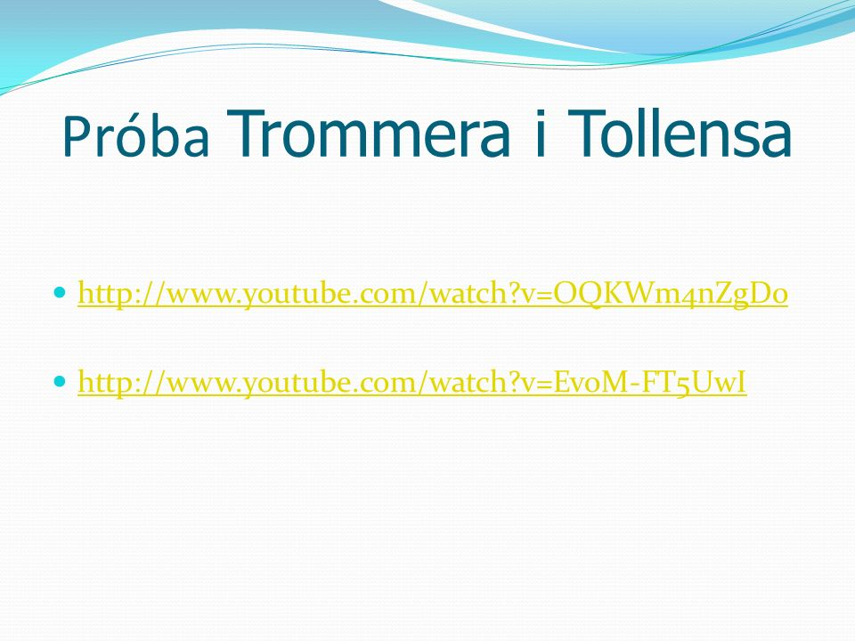 Próba Trommera i Tollensa http://www.youtube.com/watch?v=OQKWm4nZgD0 http://www.youtube.com/watch?v=EvoM-FT5UwI