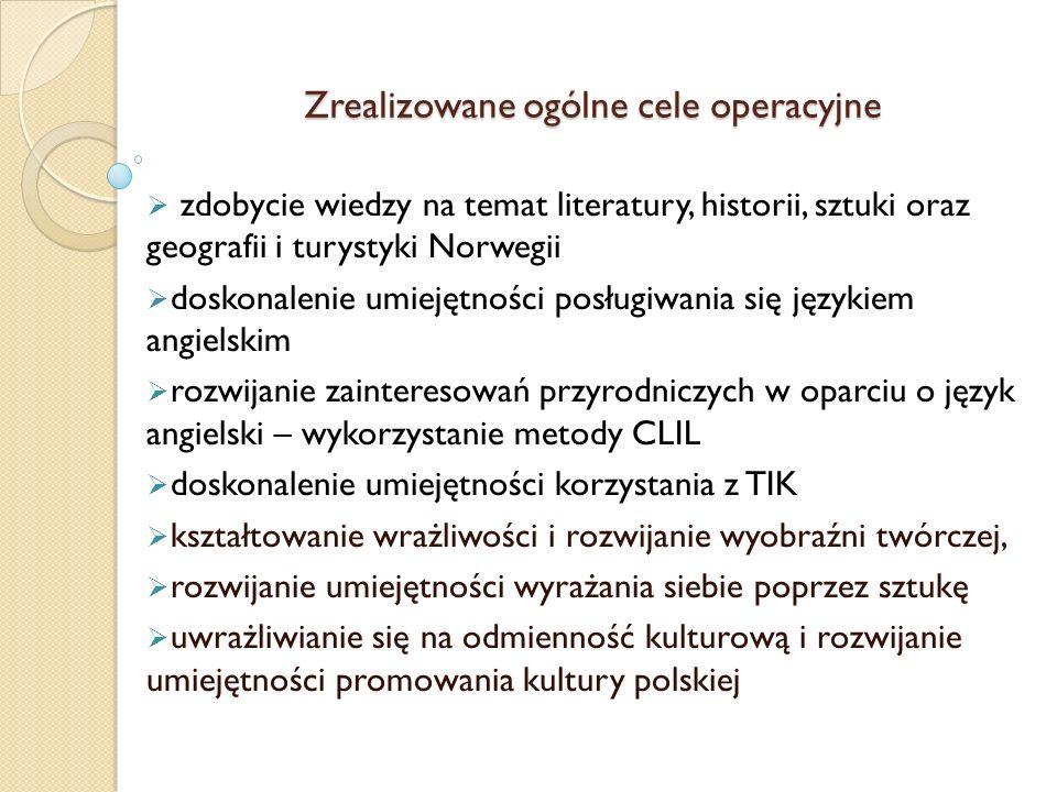 JĘZYK POLSKI Zrealizowane cele:  zapoznanie się z literaturą fantasy – praca z tekstem lektury, charakteryzowanie bohatera, nazwanie cech gatunku itd.