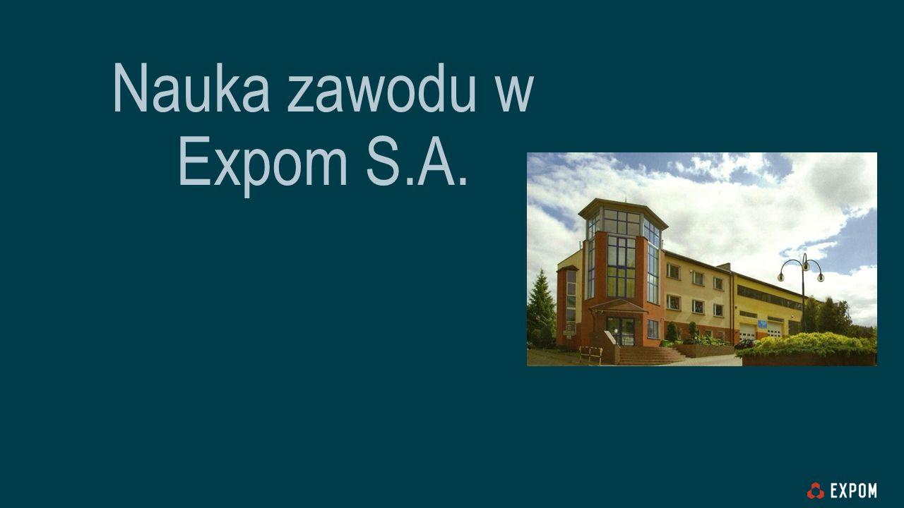 Nauka zawodu w Expom S.A.