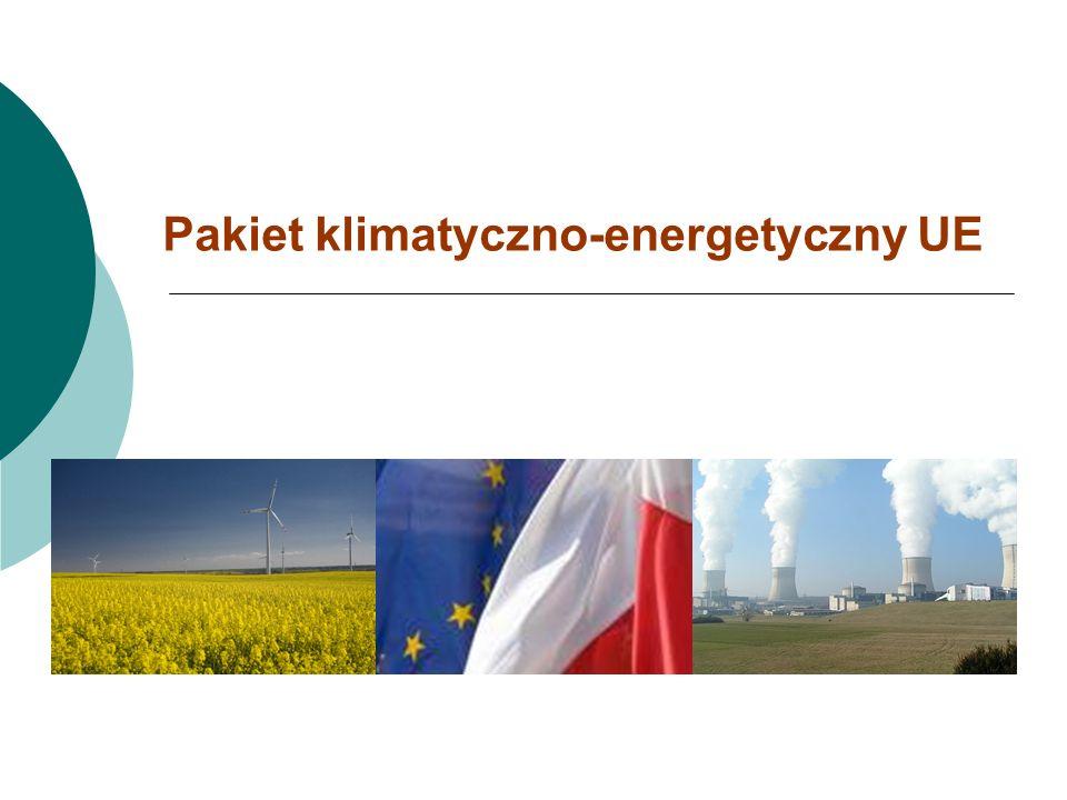 Pakiet klimatyczno-energetyczny UE