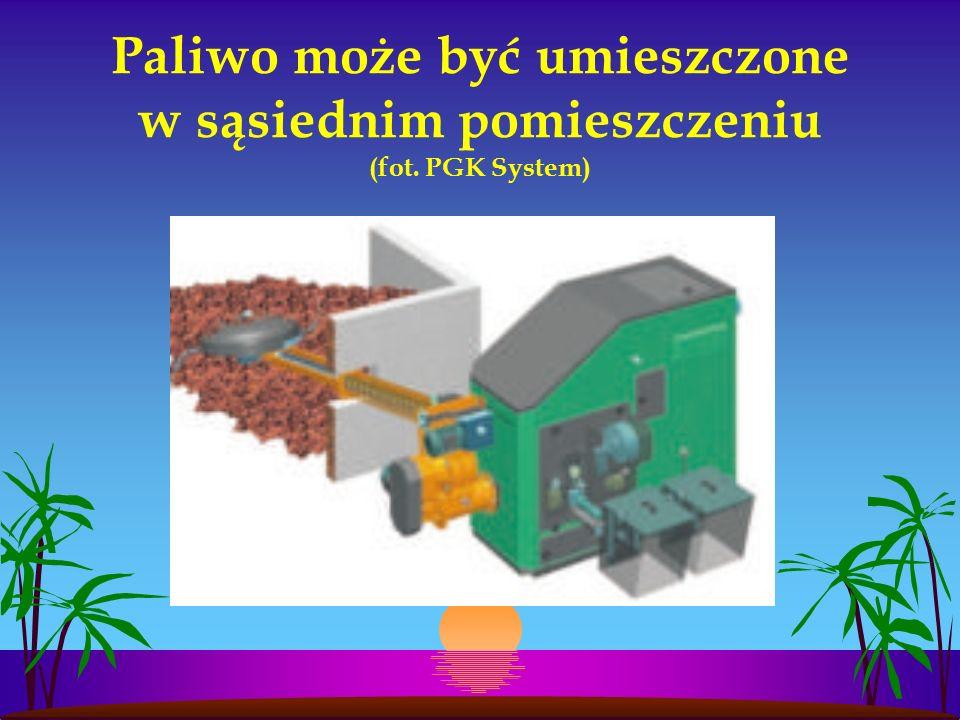 Paliwo może być umieszczone w sąsiednim pomieszczeniu (fot. PGK System)