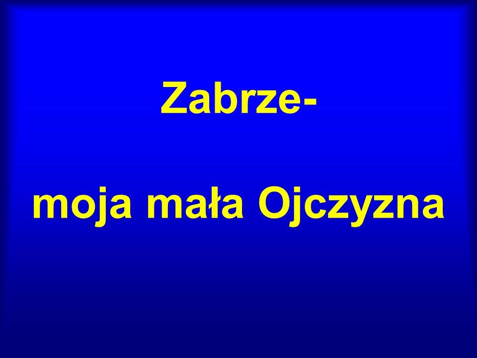 Położenie geograficzne miasta Zabrze Miasto Zabrze położone jest w południowo- zachodniej Polsce, na zachodzie województwa śląskiego i Górnośląskiego Okręgu Przemysłowego (GOP).