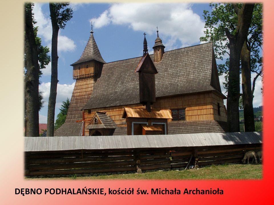 DĘBNO PODHALAŃSKIE, kościół św. Michała Archanioła
