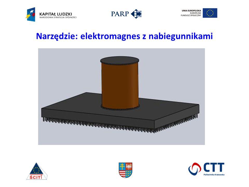 Narzędzie: elektromagnes z nabiegunnikami