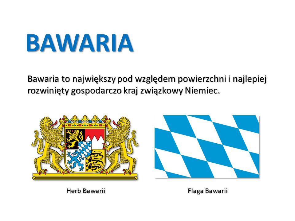 Bawaria to największy pod względem powierzchni i najlepiej rozwinięty gospodarczo kraj związkowy Niemiec.