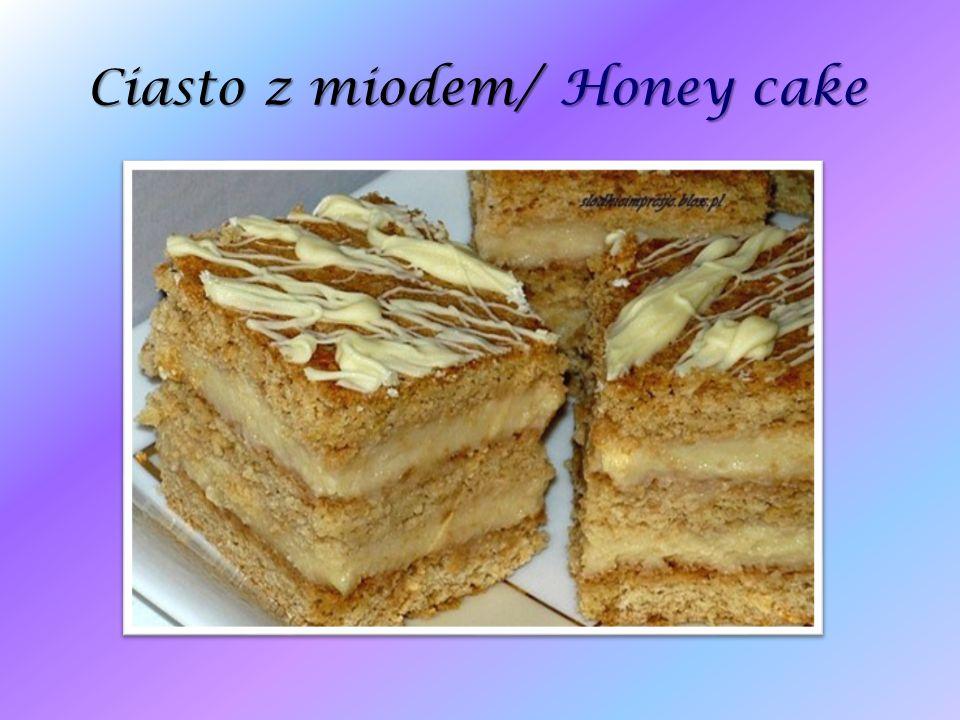 Ciasto z miodem/ Honey cake