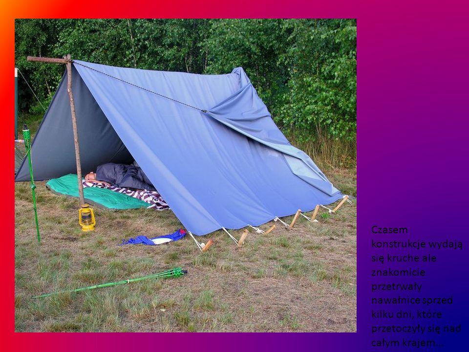 Zycie taborowe toczy się leniwie... :-) jedni mieszkają w wozach inni w namiotach...