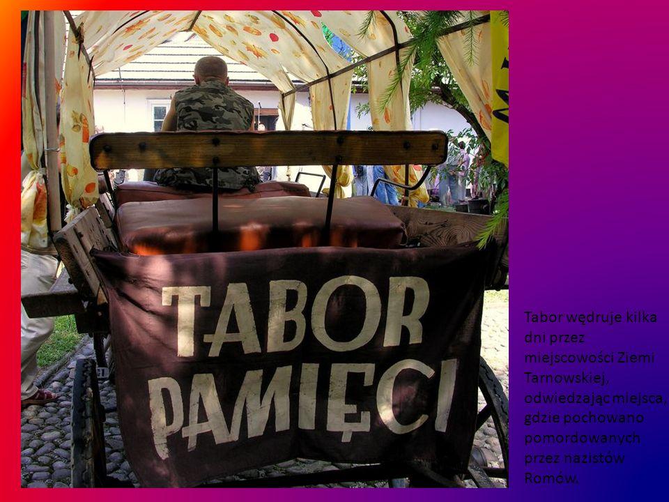 Celem Taboru jest integracja Romów wokół pamięci zagłady, edukacja młodego pokolenia, przypomnienie tradycji wędrowania.