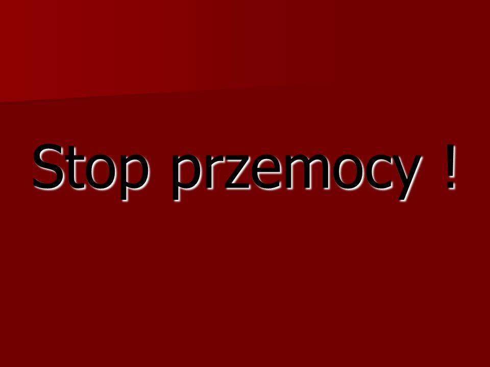 Stop przemocy !