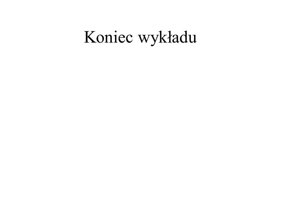 Koniec wykładu
