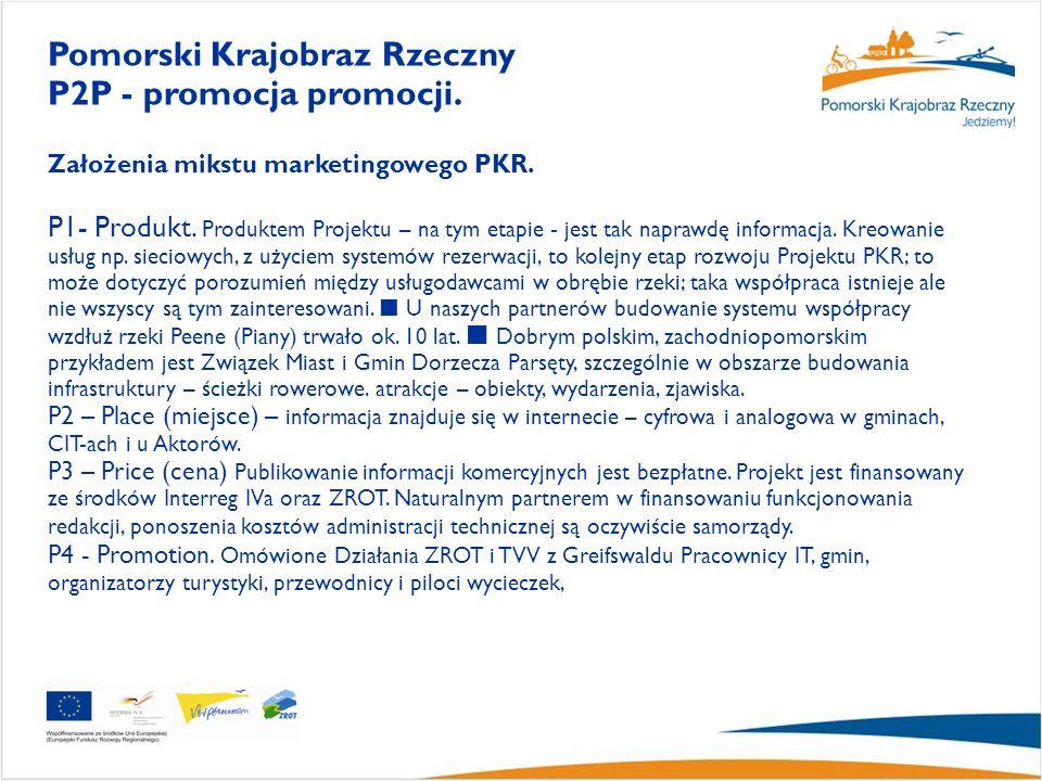 Założenia mikstu marketingowego PKR. P1- Produkt.