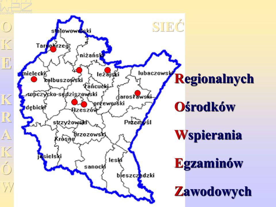 Regionalnych Ośrodków Wspierania Egzaminów Zawodowych