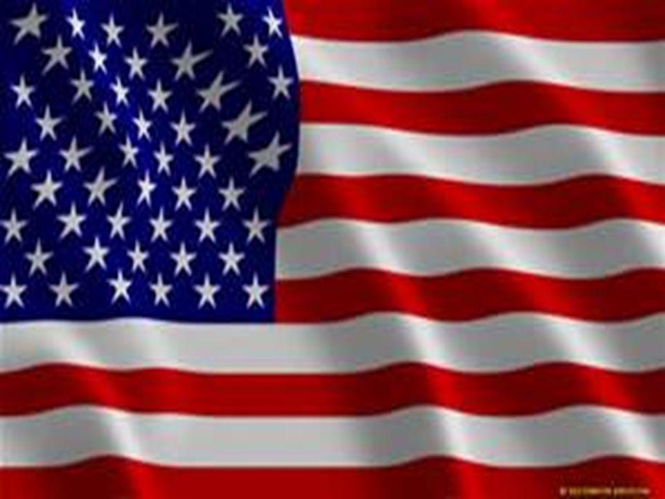  Symbolika flagi : 50 gwiazd symbolizuje 50 stanów amerykańskich, zaś 13 pasów - 13 pierwotnych kolonii.