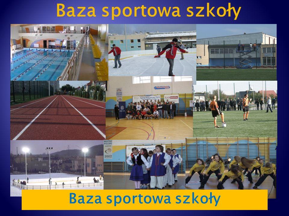 Baza sportowa szkoły