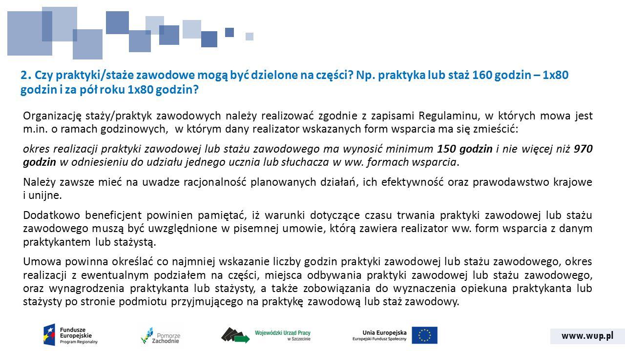www.wup.pl 33.Czy wkład własny np.