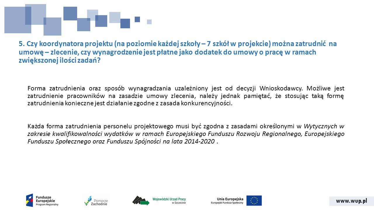 www.wup.pl 46.Zatrudnianie nauczycieli w ramach RPO WZ.