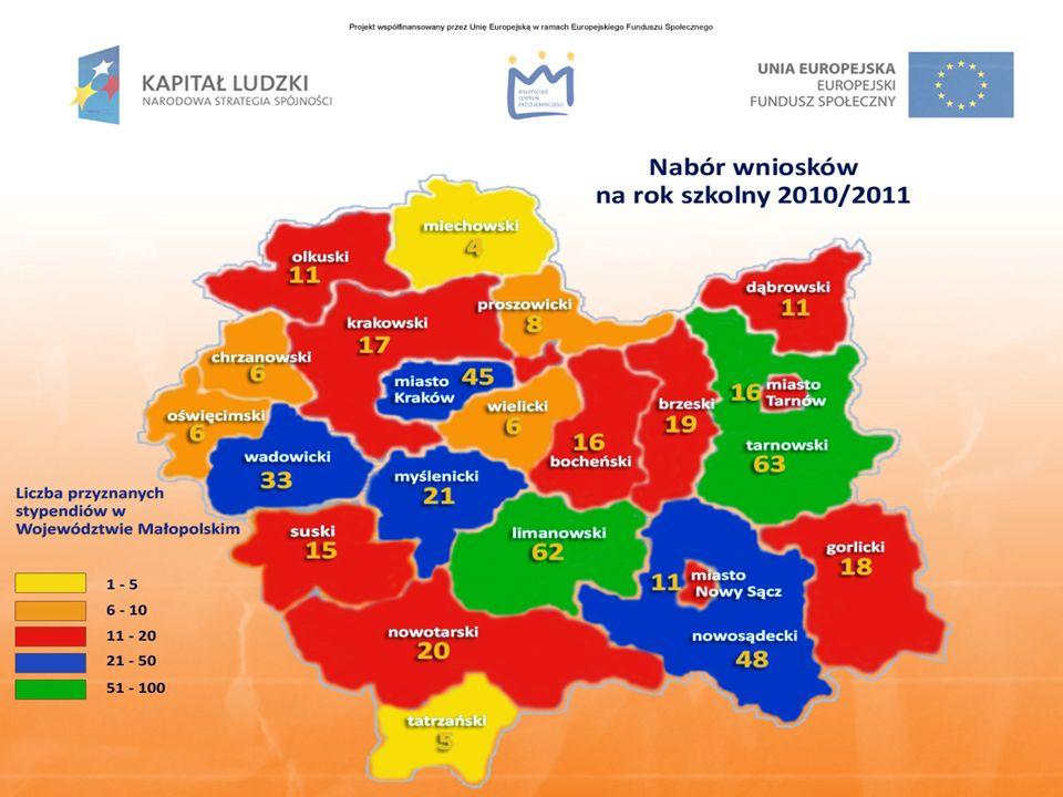 Nabór wniosków na rok szkolny 2011/2012 już we wrześniu br.