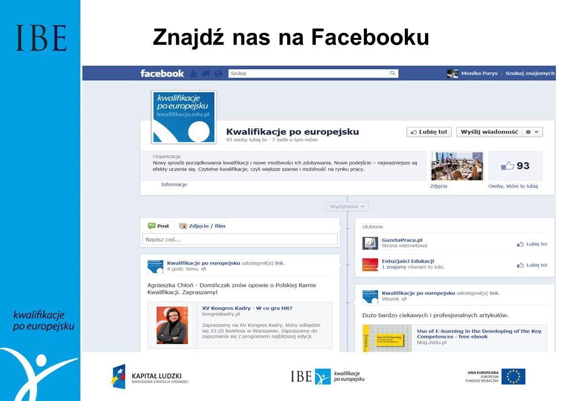 Znajdź nas na Facebooku