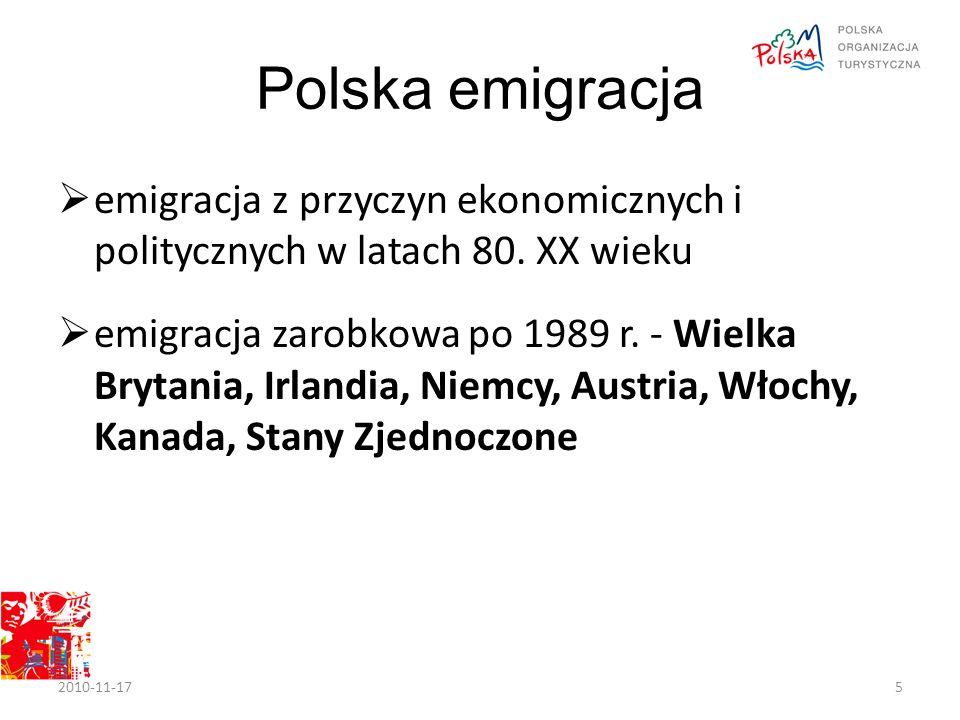 Polska emigracja  emigracja z przyczyn ekonomicznych i politycznych w latach 80.