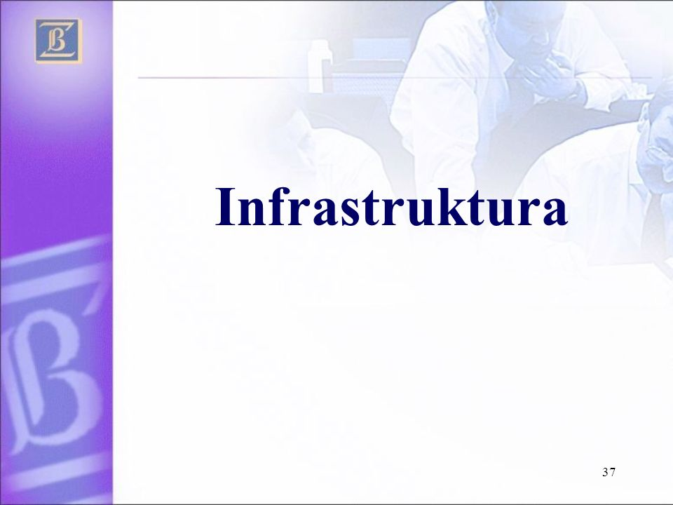 37 Infrastruktura