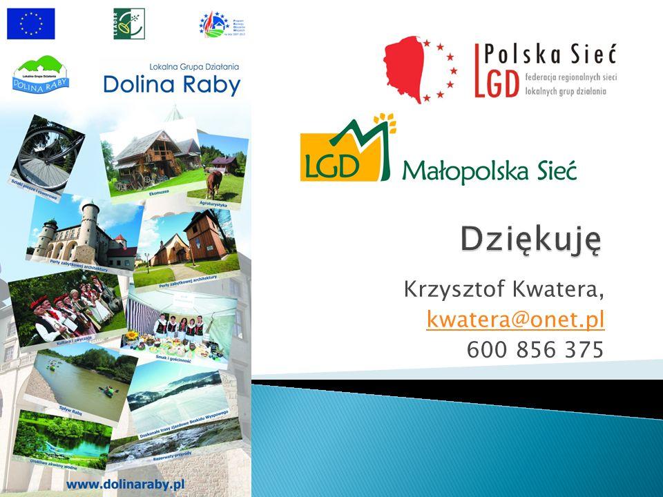 Krzysztof Kwatera, kwatera@onet.pl 600 856 375