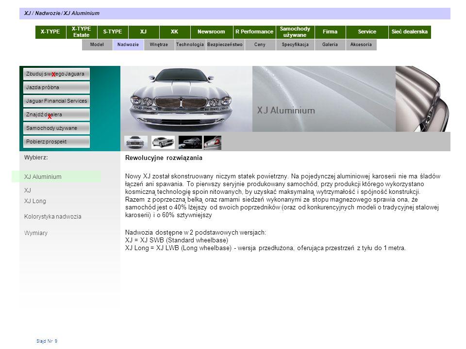 Slajd Nr 30 X-TYPE Estate S-TYPEXJXKR Performance Samochody używane Dla KlientaSieć dealerskaNewsroomFirma ModelTechnologiaBezpieczeństwoCenySpecyfikacjaGaleriaAkcesoriaWnętrze XJ / Technologia / Komfort Zbuduj swojego Jaguara Jazda próbna Jaguar Financial Services Znajdź dealera Samochody używane Pobierz prospekt x x Wybierz: Nadwozie Komfort najwyższy z możliwych Na doznania z jazdy i jakość podróżowania ma wpływ nie tylko doskonale skomponowane, najwyższej jakości wnętrze.