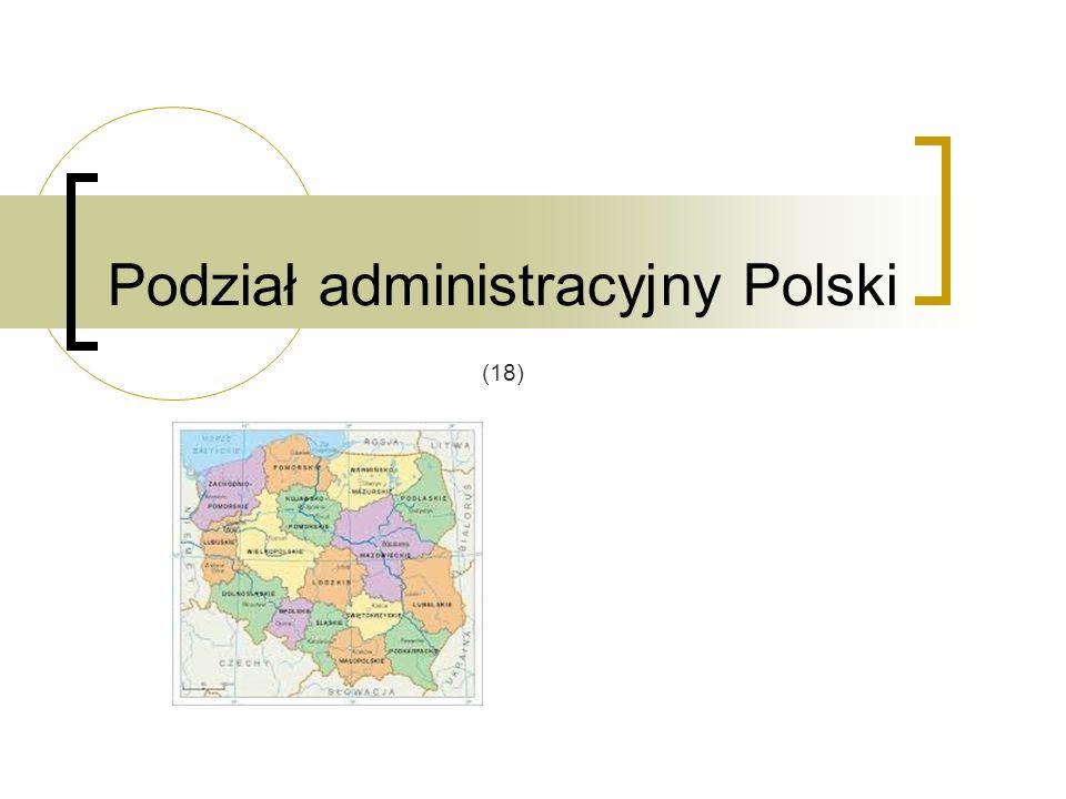 Podział administracyjny Polski (18)