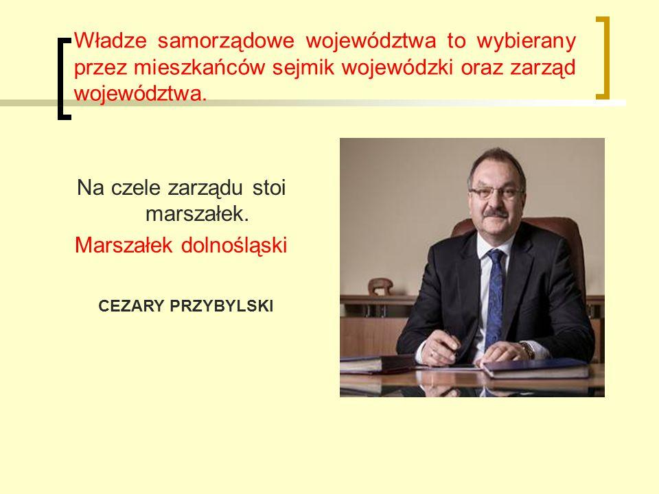 Władze samorządowe województwa to wybierany przez mieszkańców sejmik wojewódzki oraz zarząd województwa.
