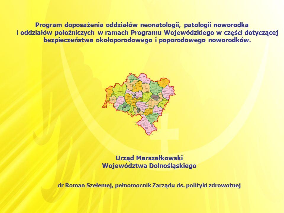 Program doposażenia oddziałów neonatologii, patologii noworodka i oddziałów położniczych w ramach Programu Wojewódzkiego w części dotyczącej bezpiecze
