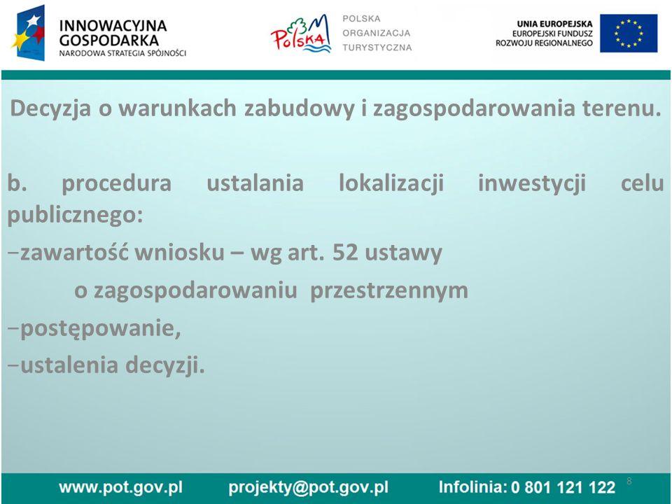 Przebieg procesu budowlanego.c. Odpowiedzialność uczestników procesu budowlanego.