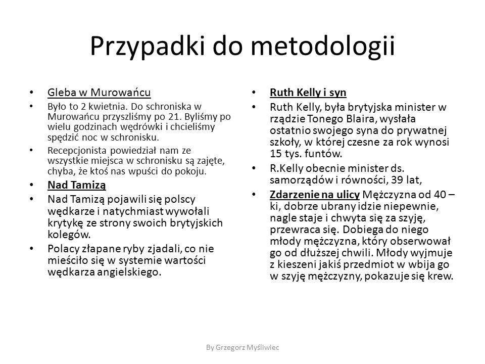 Przypadki do metodologii Gleba w Murowańcu Było to 2 kwietnia.